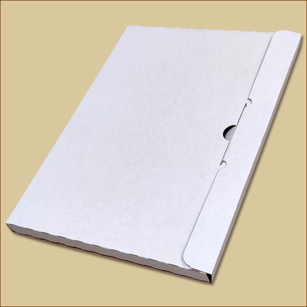 Faltschachtel 297 x 210 x 15 mm Kalender Versandschachtel einwellig
