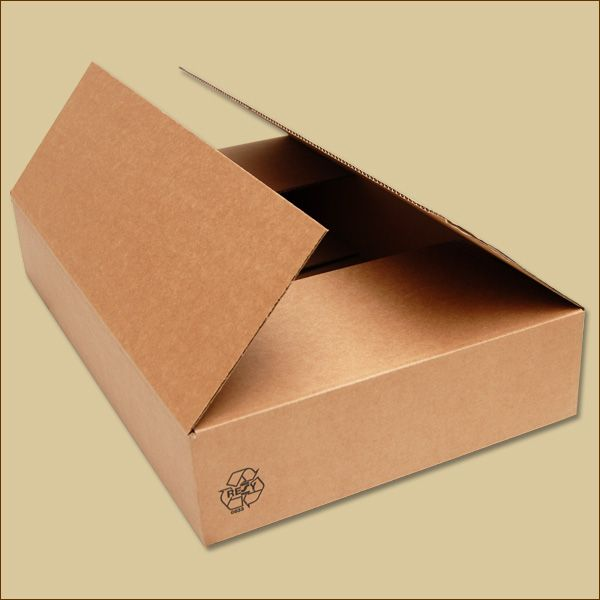 Faltkarton 610 x 376 x 106 mm Versandkarton einwellig