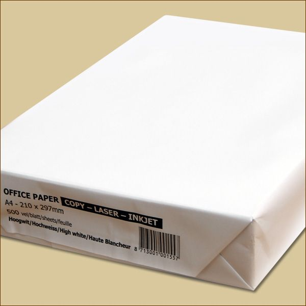 500 Blatt Kopierpapier ca. 80 g/m² weiß Druckerpapier Laserpapier