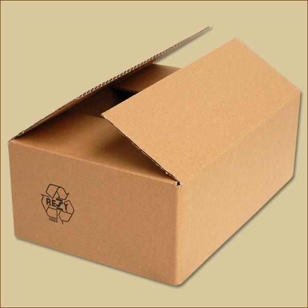 Faltkarton 280 x 190 x 100 mm Versandkarton einwellig