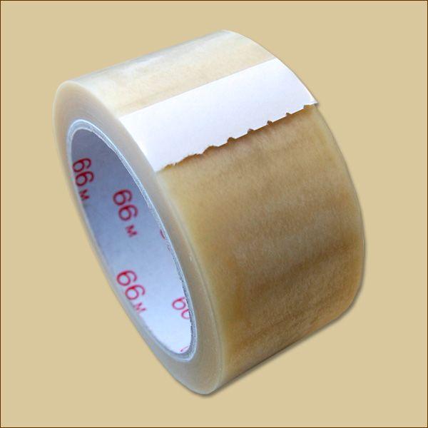 Klebeband Rollen PVC 866 transparent Packband
