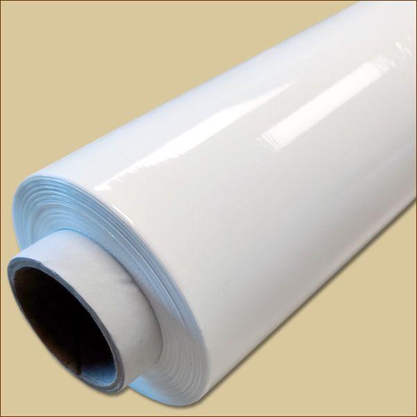 Stretchfolie WEISS 500 mm x ca. 236 m - 23 µ Palettenfolie Wickelfolie