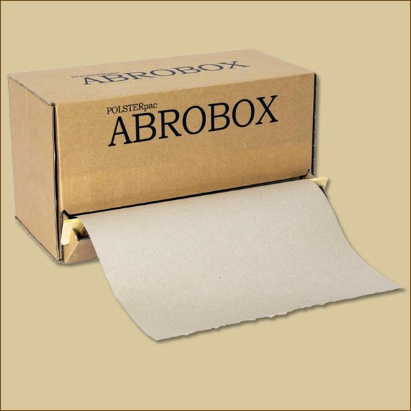 POLSTERPAC ABROBOX Schrenzpapier 350 mm x 200 m 80 g/qm GRASPAPIER