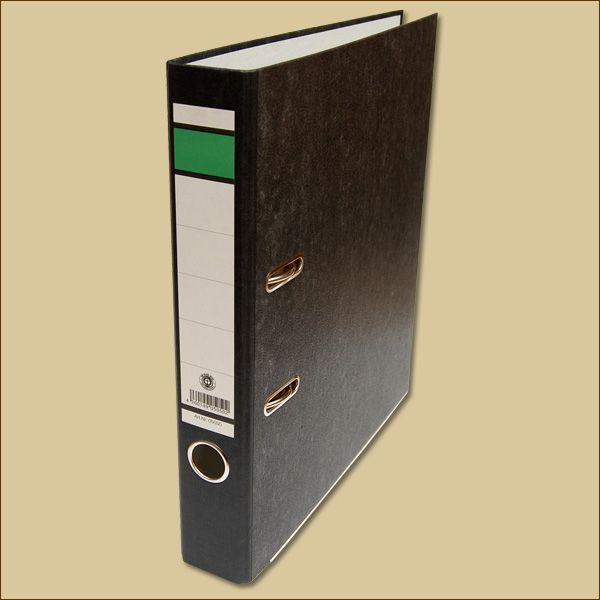 Ordner 50 mm für DIN A4 Schwarz Aktenordner