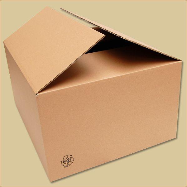 Faltkarton 555 x 455 x 280 mm Versandkarton einwellig