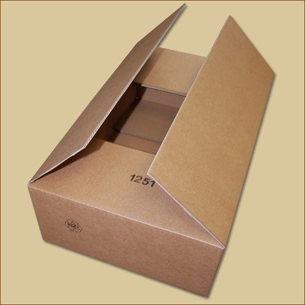 Faltkarton 580 x 380 x 180 mm Versandkarton einwellig
