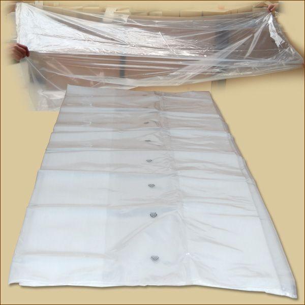 Seitenfalten-Säcke LDPE 600 + 400 x 2000 x 0,07 mm