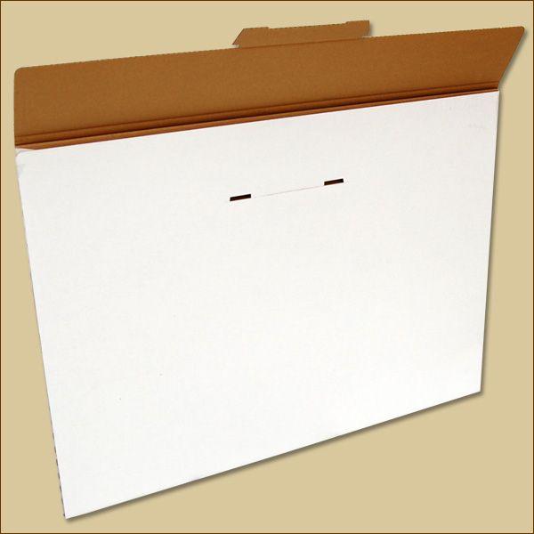 Faltschachtel 700 x 500 x 5 mm Versandschachtel einwellig Kalender