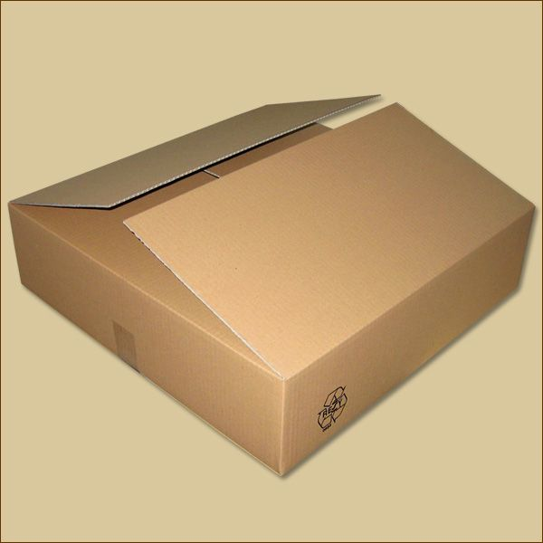 Faltkarton 600 x 600 x 150 mm Versandkarton einwellig