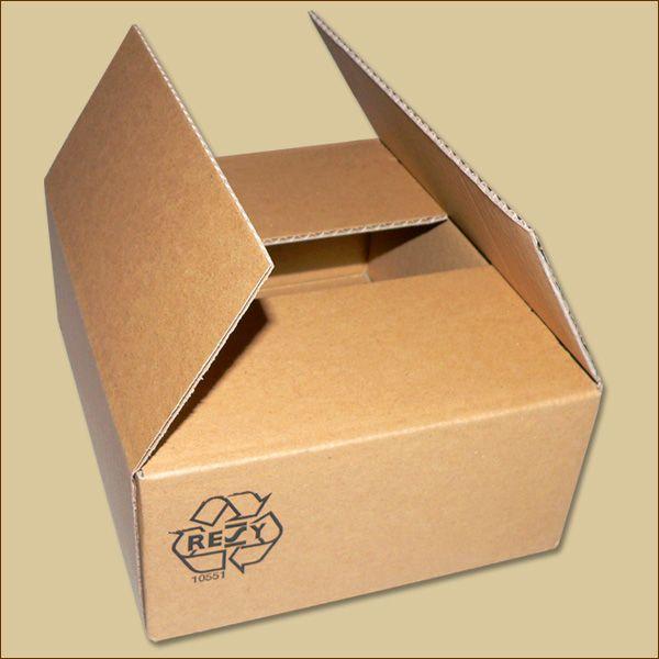 Faltkarton 205 x 165 x 75 mm Versandkarton einwellig