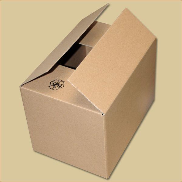 Faltkarton 255 x 175 x 175 mm Versandkarton einwellig