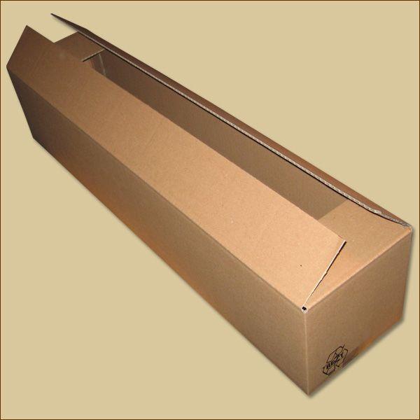 Faltkarton 700 x 150 x 150 mm Versandkarton einwellig