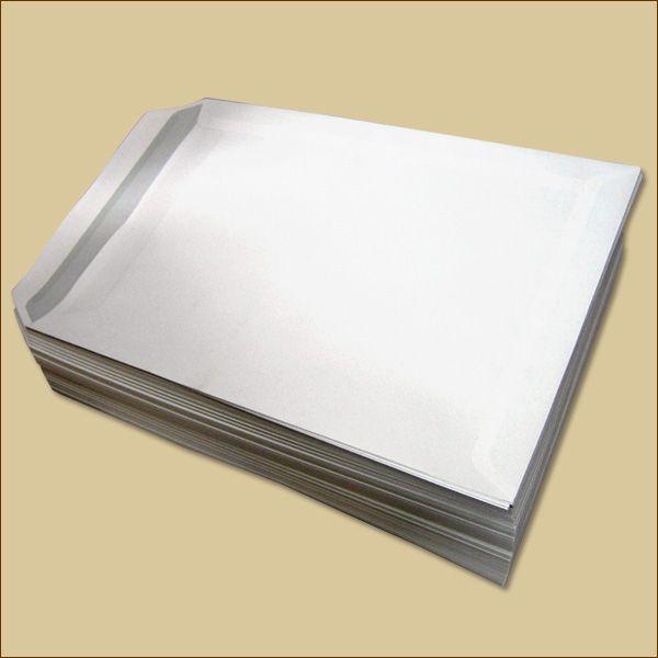 Versandtaschen C5 Haftklebung weiß ohne Fenster