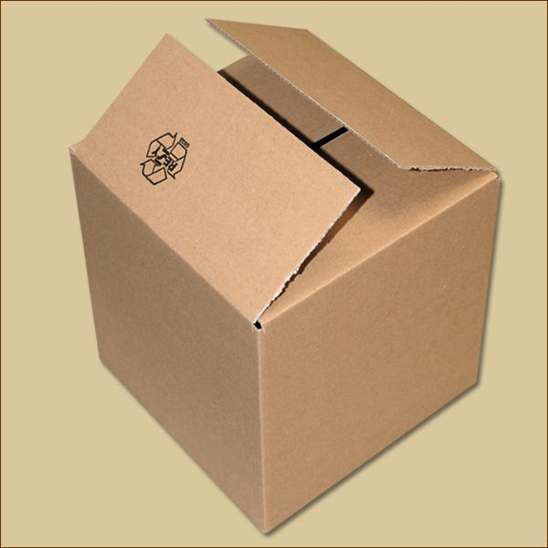 Faltkarton 175 x 175 x 175 mm Versandkarton einwellig