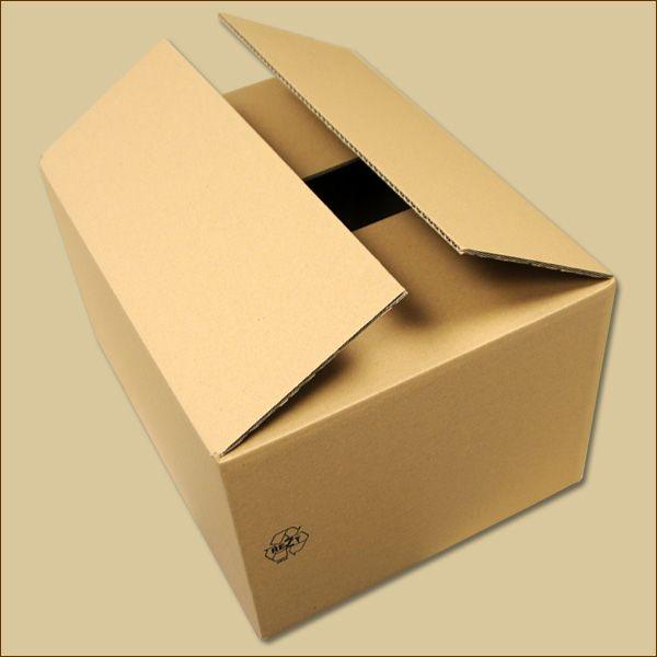 Faltkarton 450 x 350 x 250 mm Versandkarton einwellig