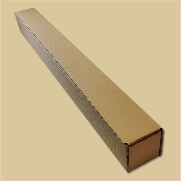 Faltschachteln 1050 x 100 x 100 mm Versandhülse einwellig