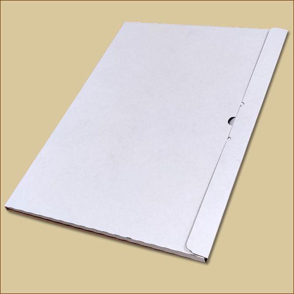 Faltschachtel 500 x 350 x 10 mm Kalender Versandschachtel einwellig
