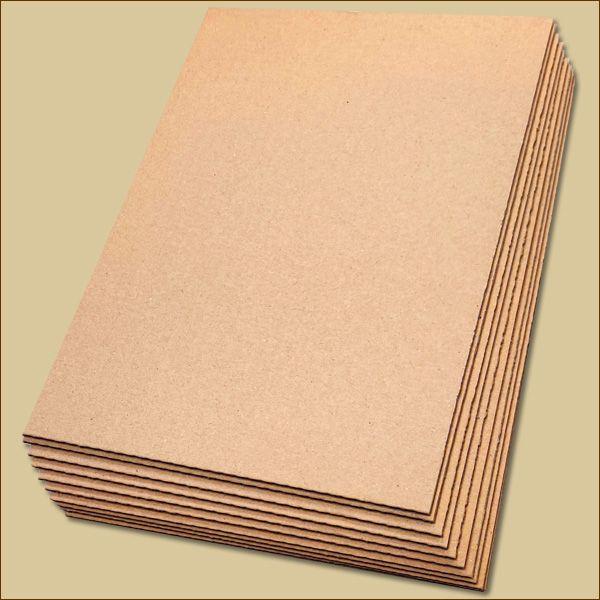 Wellpapp Zuschnitte 297 x 210 mm DIN A4 Formate