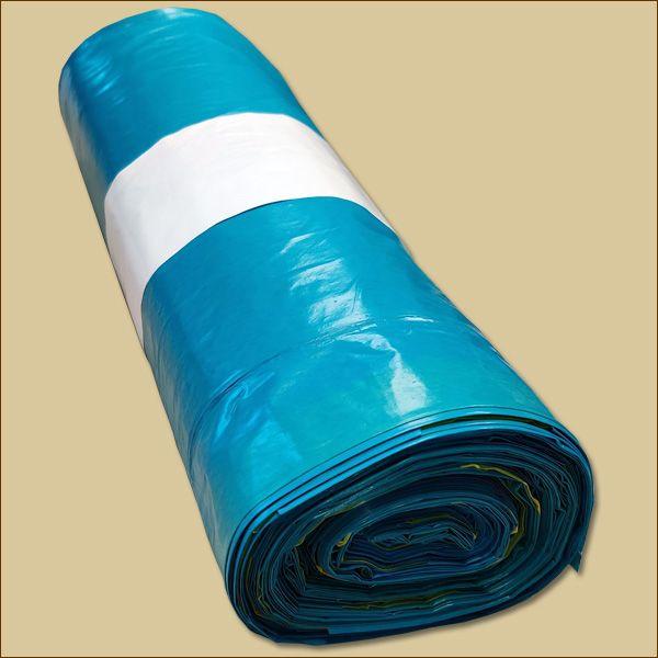 Müllsäcke Rollen BLAU 120 Liter Abfallsäcke 25 Stück/Rolle