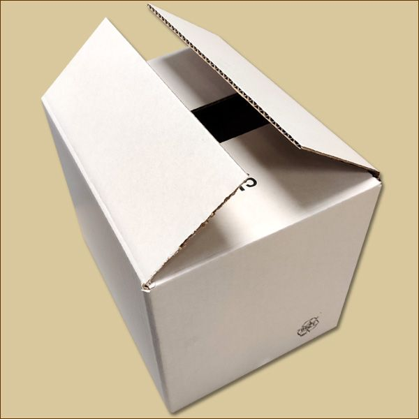 Faltkarton 280 x 220 x 240 mm Versandkarton einwellig weiß