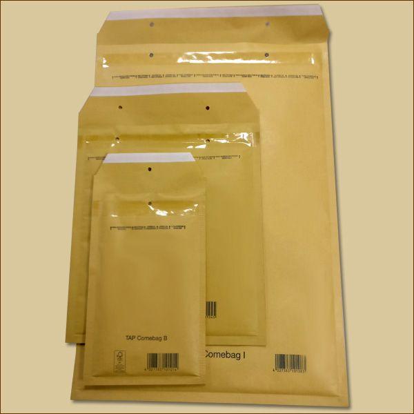Luftpolstertaschen Gr. F/6 DIN A4 goldgelb Versandtaschen