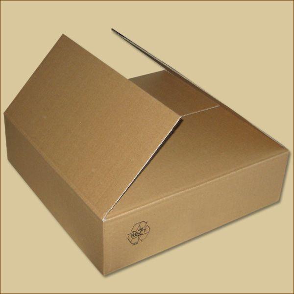 Faltkarton 350 x 350 x 100 mm Versandkarton einwellig