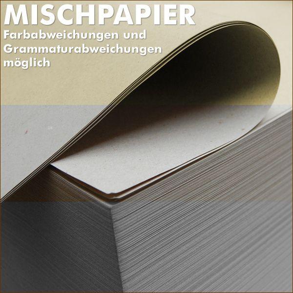 Mischpapier Schrenz 750 x 500 mm Knüllpapier Packpapier