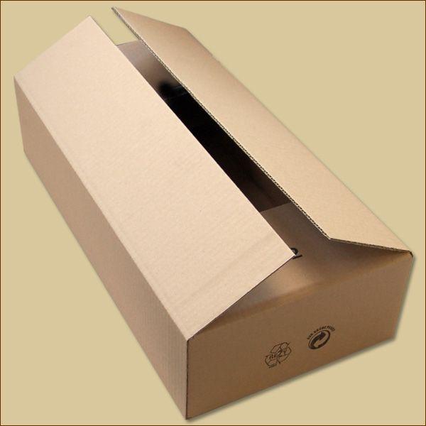 Faltkarton 470 x 235 x 110 mm Versandkarton einwellig