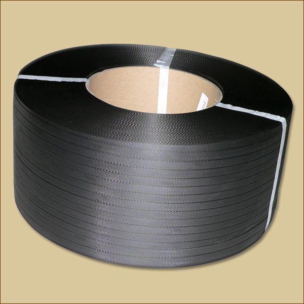 PP-Umreifungsband 3000 m x 0,63 mm, 200 mm Kern, schwarz