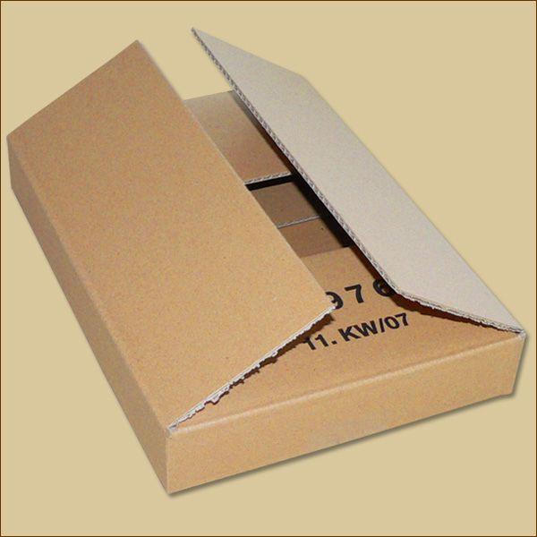 Faltkarton 300 x 215 x 42 mm Versandkarton einwellig