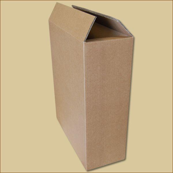 Faltkarton 313 x 123 x 383 mm für 3 Flaschen Versandkarton
