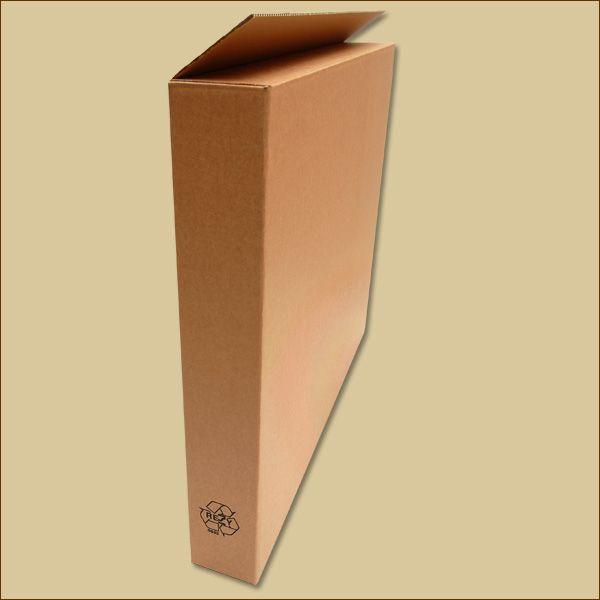 Faltkarton 770 x 100 x 650 mm Versandkarton einwellig
