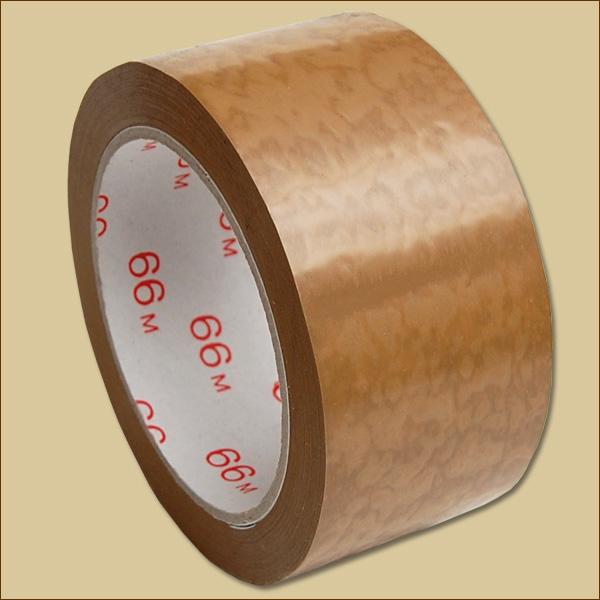 50 mm x 66 lfm Packband Paketklebeband 36 x Klebeband Braun leise abrollend