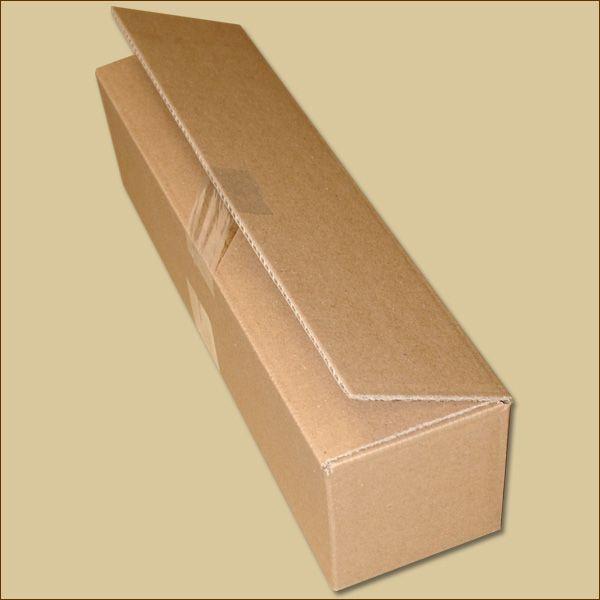 Faltkarton 425 x 105 x 105 mm Versandkarton zweiwellig