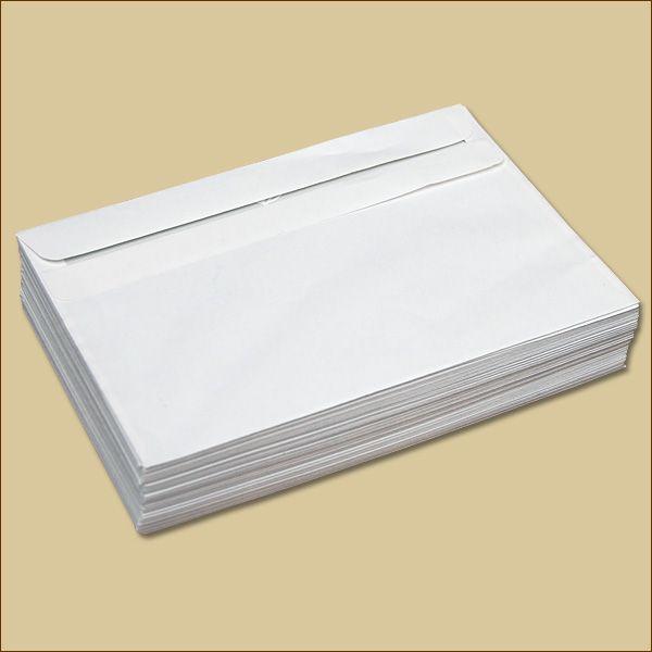 Briefumschläge B6 Selbstklebung weiß ohne Fenster