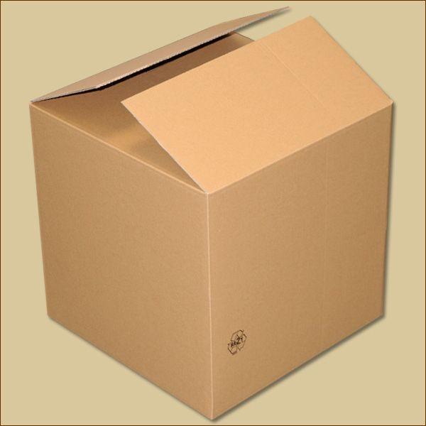 Faltkarton 400 x 400 x 400 mm Versandkarton zweiwellig