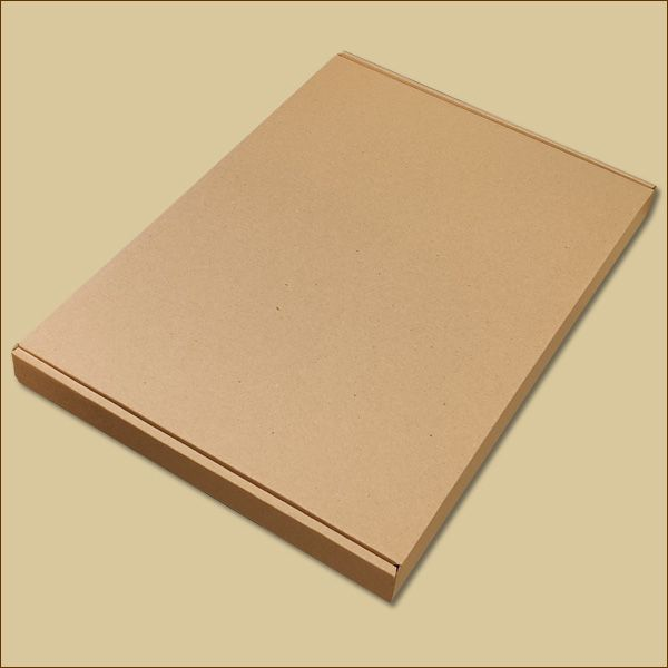Faltschachtel 337 x 245 x 27 mm Versandschachtel einwellig Maxibrief