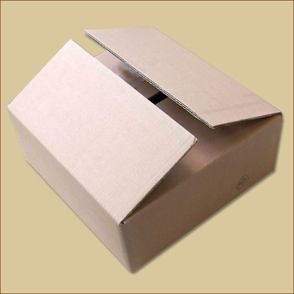Faltkarton 352 x 332 x 118 mm Versandkarton zweiwellig