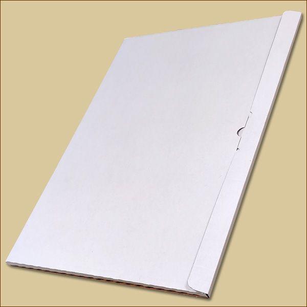 Faltschachtel 594 x 420 x 10 mm Kalender Versandschachtel einwellig
