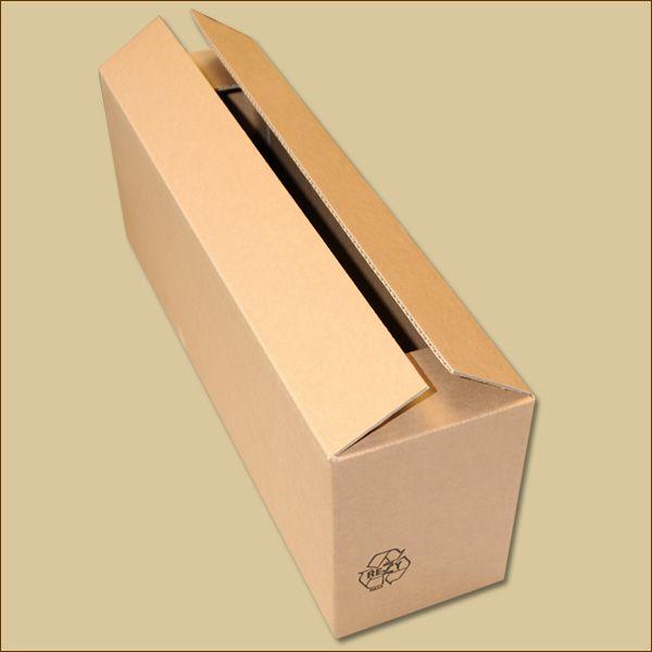 Faltkarton 540 x 140 x 180 mm Versandkarton einwellig
