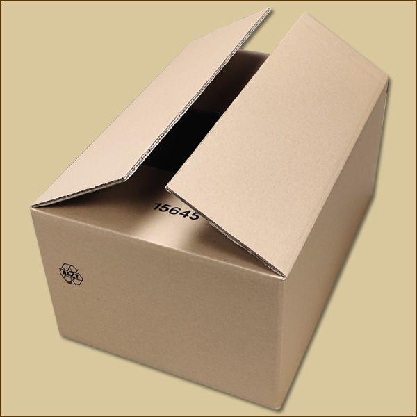 Faltkarton 535 x 365 x 250 mm Versandkarton zweiwellig