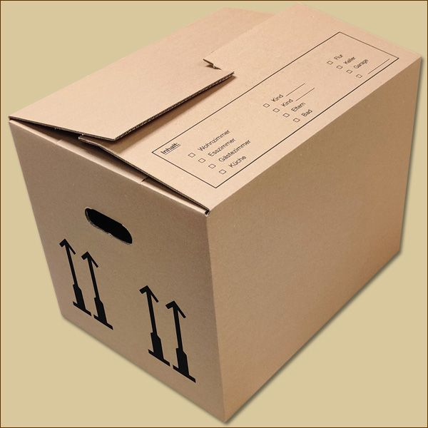 Umzugskarton S 450 x 350 x 345 mm Bücherkarton zweiwellig