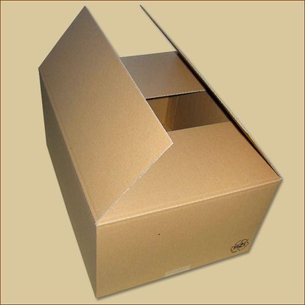 Faltkarton 400 x 300 x 200 mm Versandkarton einwellig
