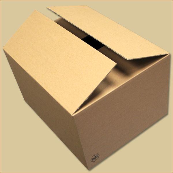 Faltkarton 500 x 400 x 300 mm Versandkarton zweiwellig
