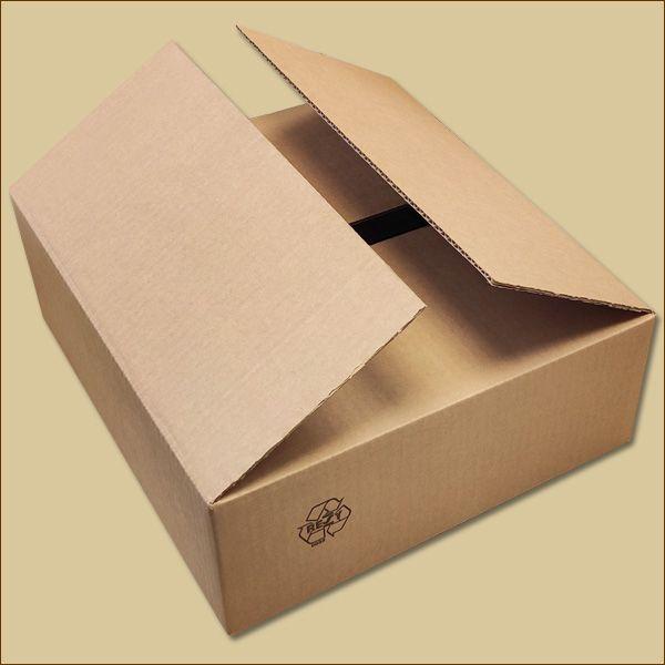 Faltkarton 390 x 350 x 130 mm Versandkarton einwellig
