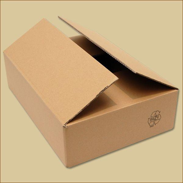 Faltkarton 390 x 280 x 100 mm Versandkarton zweiwellig