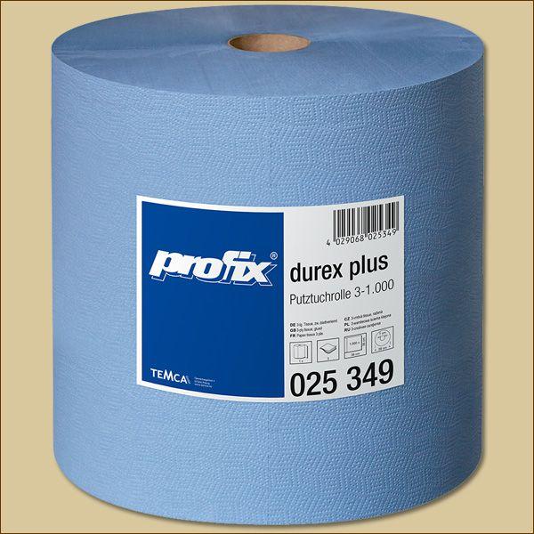 Putztuchrolle blau 3-lagig 1000 Blatt