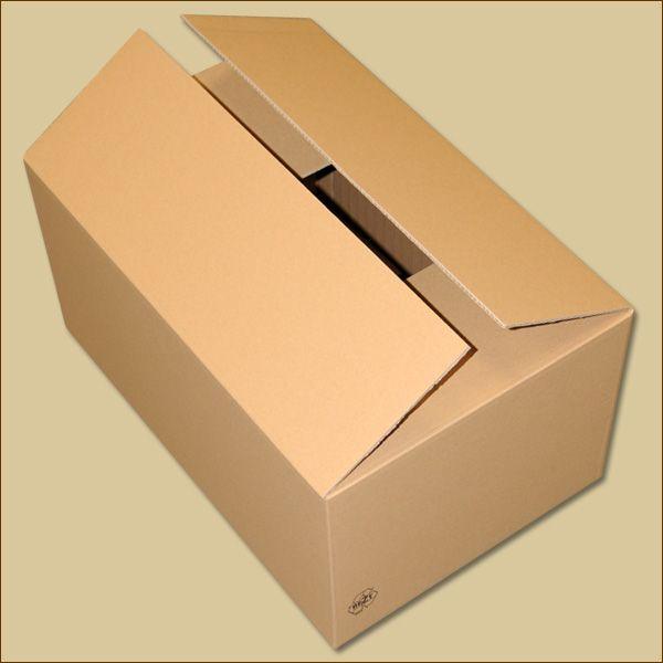 Faltkarton 590 x 390 x 285 mm Versandkarton zweiwellig