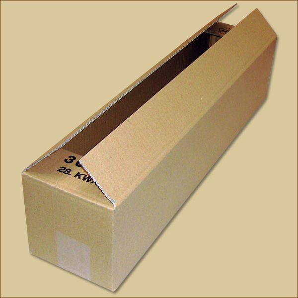 Faltkarton 600 x 130 x 130 mm Versandkarton einwellig