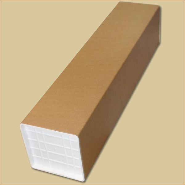 Versandhülsen quadratisch 705 x 150 x 150 x 2 mm braun Papphülse